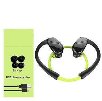 Hzhy Deportes inalámbricos Bluetooth 4.2 Reducción de Ruido Deportes al Aire Libre a Prueba de Agua