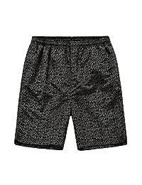 MADHERO Mens Boardshorts Quick Dry Printed Beach Shorts with Pockets