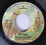 Heaven & Earth 45 RPM No Limit / Guess Who's Back In Town