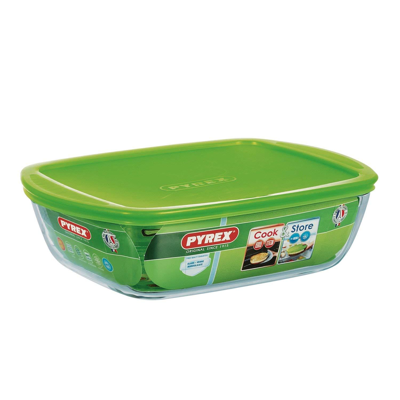 Pyrex Envases para Alimentos-Recipientes, 28 x 20 x 8 cm: Amazon ...