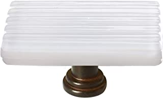 product image for Sietto LK-800-ORB Texture 2 Inch Long Rectangular Cabinet Knob