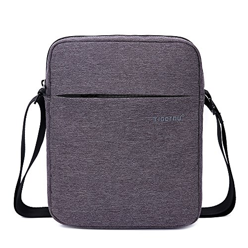 Tigernu Mens Cross Body Messenger Shoulder Bag Satchel Bag Water Resistant Nylon Detachable Strap Shoulder Bag Purse Small Fits Ipad Tablet under 10 inch (Dark - Car Accessories Gucci Sale