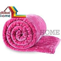 Blankets Single II 60 X 90 Inch II Multi Color by Global Home Tex
