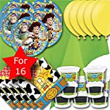 Toy Story Party Pack for 16 - Plates, Cups, Napkins, Balloons and Tablecovers