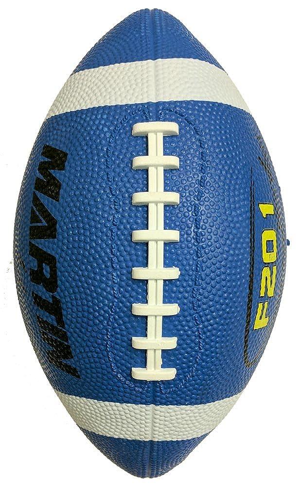 MartinスポーツナイロンWound Footballユニセックス B01MT7RA3H ブルー OS OS|ブルー