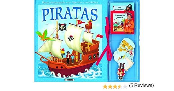 Piratas. Barco Desplegable Con Figuritas Y Minilibros Aventuras en 3D: Amazon.es: Susaeta Ediciones S A: Libros