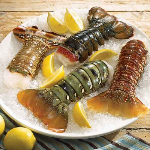 Lobster Gram ATWTS1 AROUND THE WORLD TAIL SAMPLER WITH 4 LOBSTER TAILS