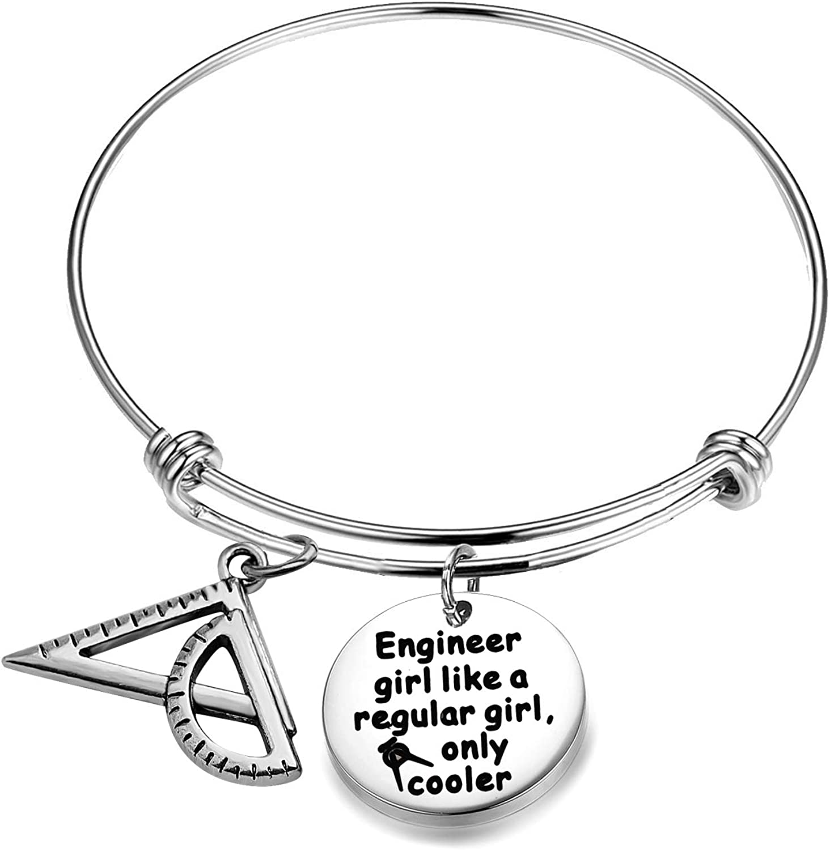 AKTAP Engineer Graduation Gift Architect Bracelet Engineer Girl Like a Regular Girl Only Cooler Engineer Gift Engineering Student Gift
