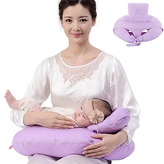 Du & HL - Cojín de lactancia mamá espalda apoyo cojín de ...