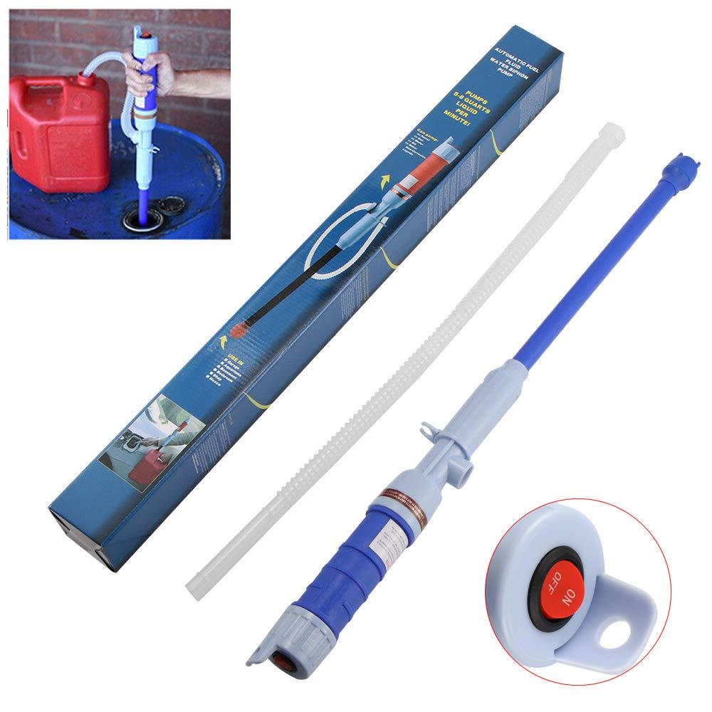 ShangSky Siphon Pumpe Handpumpe Wasser Akku Wasserpumpe Elektrische Fl/üssigkeits Transferpumpe F/ür /Öl Benzin Diesel Wasser