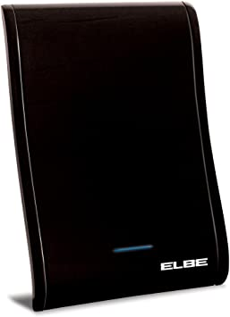 Elbe ANT-333 - Antena digital de interior, UHF 470/870 MHz, VHF 47/230 MHz, color negro: Amazon.es: Electrónica