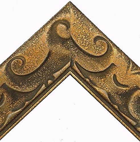 ImpactInt Gold Bronze Art Nouveau Picture Frame (8x10 Inch)