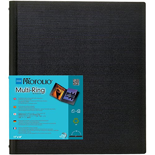 Itoya Art Profolio Multi Ring Refillable Binder (13'' x 19'')