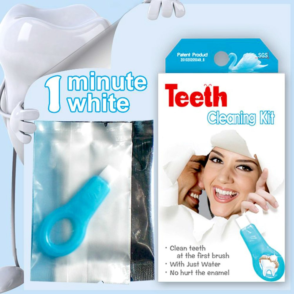 Teeth Cleaning Kit Professional Nano-Technology Gel Strips Teeth Whitening Tools Cleaning Stains Smoke Teeth Tools