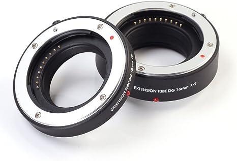 FOTGA- cámaras réflex Digitales Macro Lente AF Tubo de extensión ...