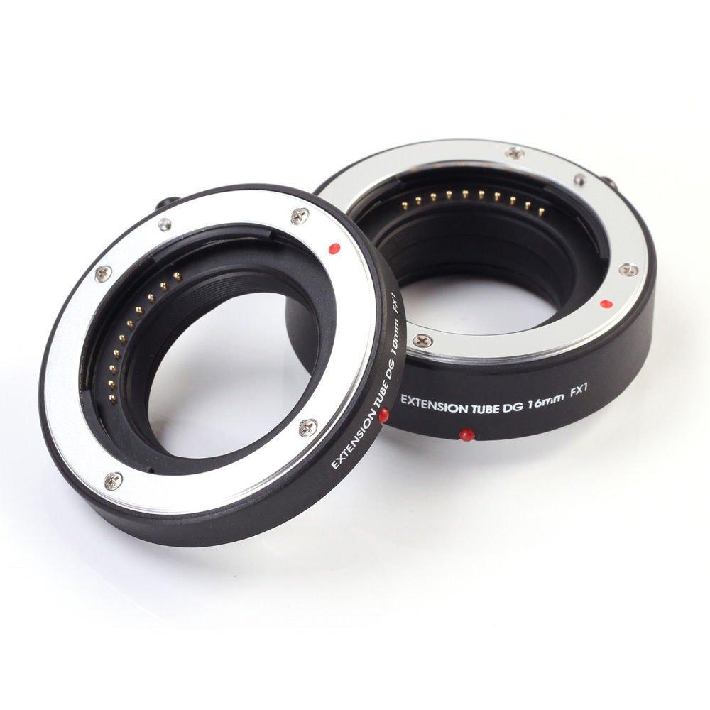 Fotga Macro Auto Focus Extension Tube 10mm 16mm Set DG for Samsung NX Mount NX1 NX30 NX300 NX500 NX Mini NX1100 NX2000 NX3000 NX3300 Dslr Cameras by FOTGA