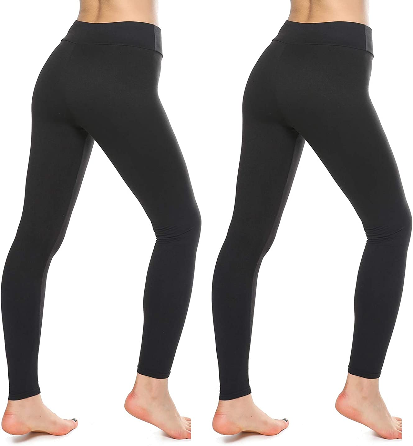 KT Buttery Soft Leggings for Women - High Waisted Leggings Pants with Pockets - Reg & Plus Size: Clothing