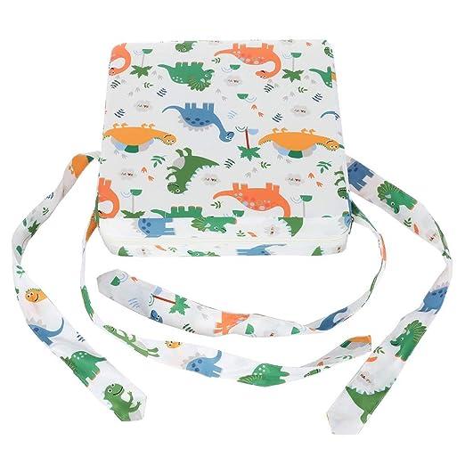 Asiento para niños con almohadilla de aumento y cojín ...