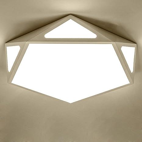 Modern clásico - Lámpara LED de techo, estilo contemporáneo ...