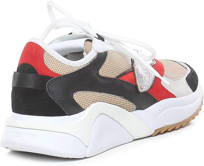 Philippe Model Sneakers Uomo EZE Mondial RESEAU EZLU Beige