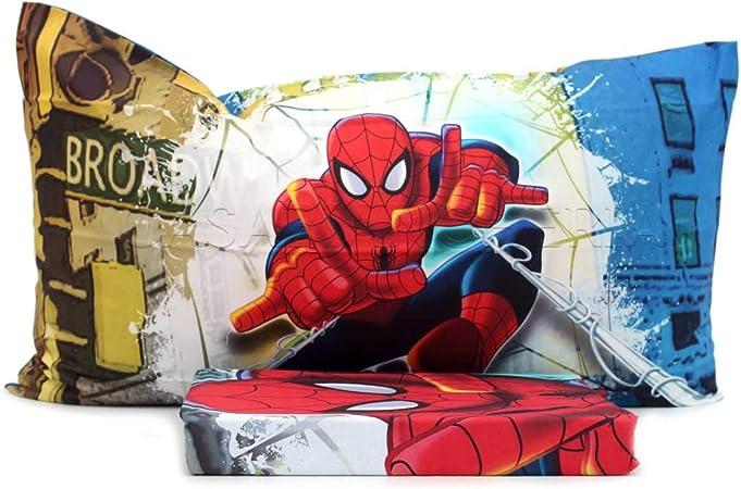 Copripiumino Spiderman.Copripiumino Spiderman Brodway Singolo Caleffi Escluso Sotto