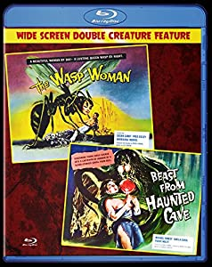 THE WASP WOMAN - BEAST FROM HAUNTED CAVE Blu ray by Retromedia Entertainment Group, Inc.
