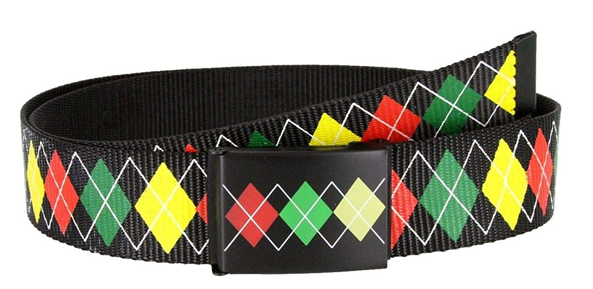 1-1//2 Wide BSC Printed Canvas Military Web Belt with Bottle Opener