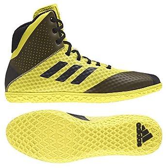 Amazon.com  adidas Mat Wizard 4 Wrestling Shoes - Mens  Sports   Outdoors a29c2b03c