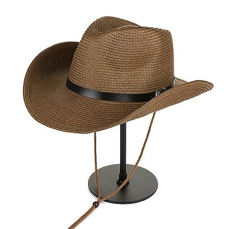 9ba7de2670b Summer outdoor sun visor UV men s Korean cowboy straw hat beach hat ...