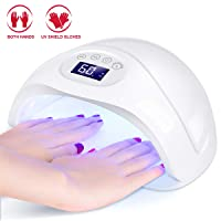 Minger 48W UV LED Nail Dryer Nail Lamp w/UV Shield Gloves