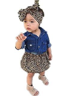 fa12e1928 POLP Bebé Monos Recién Nacido Bebé Unisex Estampado Leopardo ...