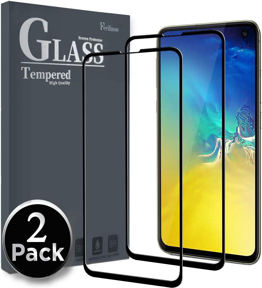 Ferilinso 6.5 HD Clarity 9H Glass Screen Protector 3 Pack Tempered Glass Screen Protector 3 Pack Camera Lens Protector for iPhone 11 Pro Max 6 Pack