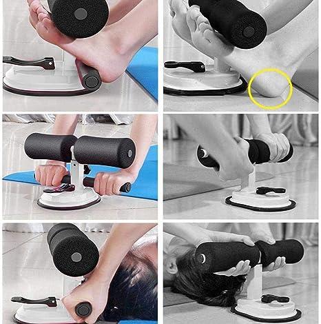 Briskay Sit-Up Exercise Bar R/églable Rembourr/é Cheville Et Support /Équipement De Fitness pour Le Travail /À Domicile pour Hommes Et Femmes
