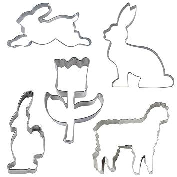 Ausstechform Hase 6 cm Ausstecher Osterhase Städter