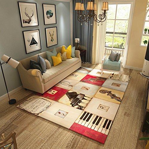 Decorative Rugs,Xiandai Carpe Northern Europe Living Room Tea Table Carpet  Bedroom Wall To