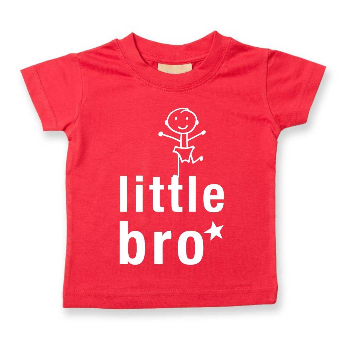 /15/anni disponibile nelle taglie 0/ Little Bro t-shirt per bambini /6/mesi a 14/ vari colori disponibili bianco White 0-6 mesi