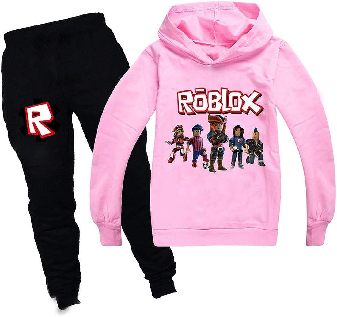 Ragazzi Felpe Con Cappuccio Ragazze Bambini Abiti Personaggi Cartoni Pullover Cotone Felpa Pantaloni Abbigliamento Set