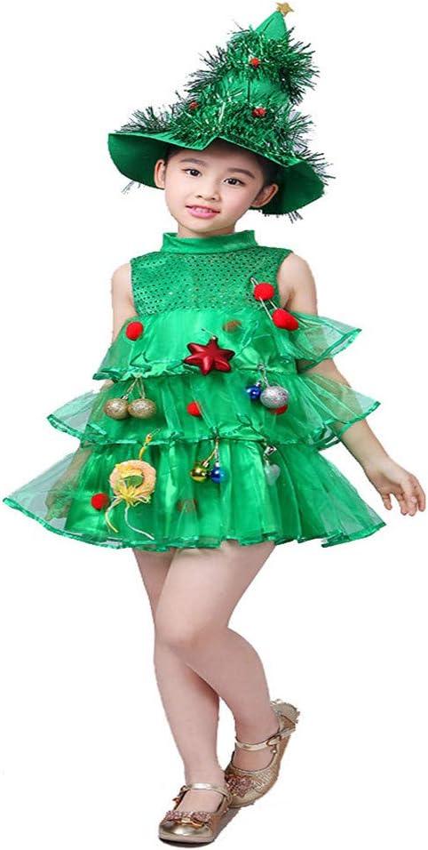 Yiwuhu Costume de Noel Disfraz Infantil de Navidad Disfraz de ...