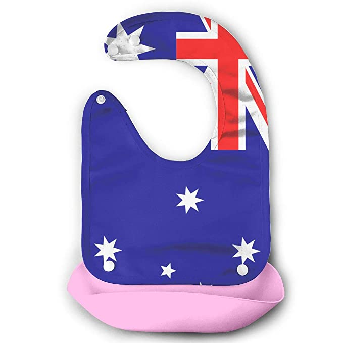 Review Australia Flag Saliva Towel/Anti