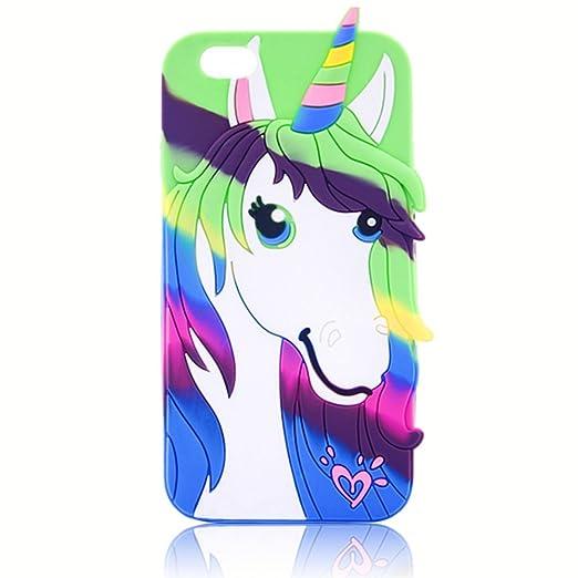 5 opinioni per Case per iPhone 6 6S 4.7 Pollici, Vandot Silicone Gel Custodia Cute Cartone