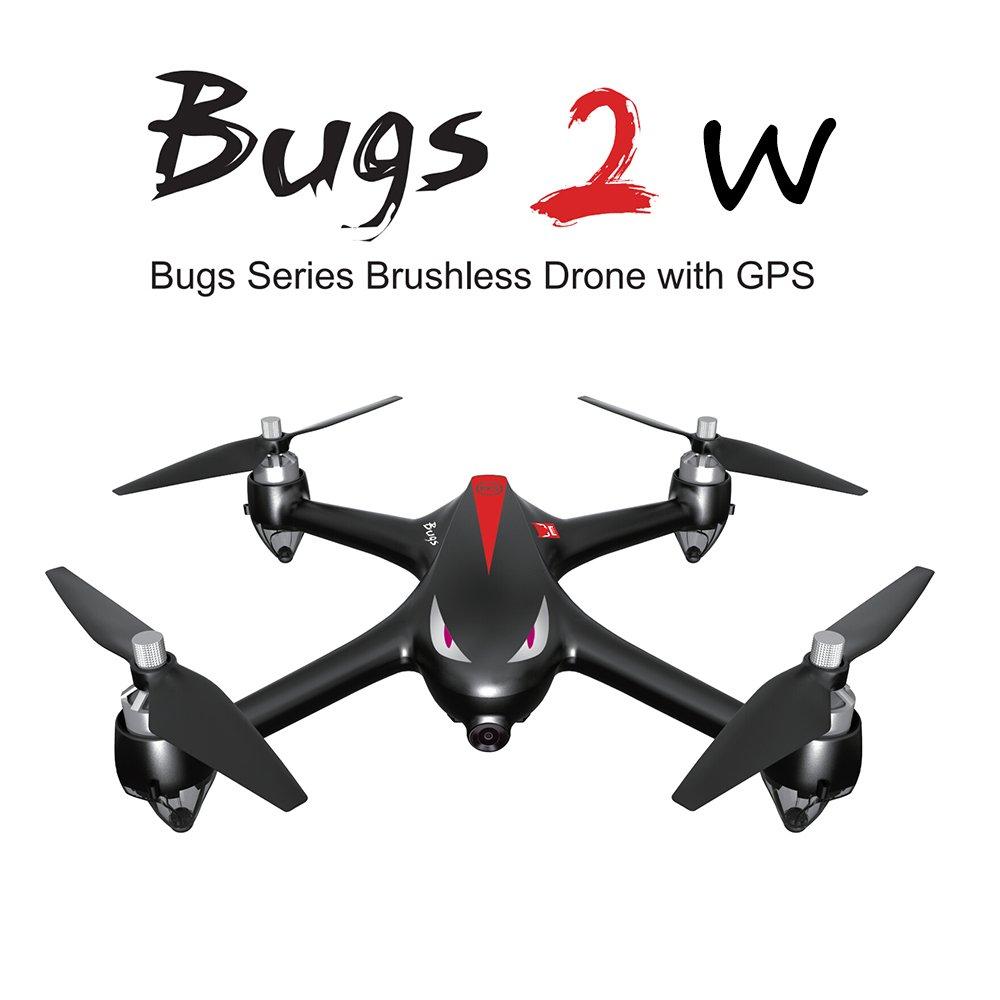 edición limitada Goolsky MJX MJX MJX B2W Bugs 2W WiFi FPV Drone con Cámara 1080P 2.4G 6-Axis Gyro sin escobillas Motor Independiente ESC Drone GPS RC Quadcopter  en promociones de estadios