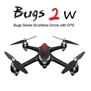 Goolsky MJX B2W Bugs 2W WiFi FPV Drone con cámara 1080P 2.4G 6 ...