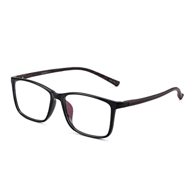 Jm Retro Ligero Tr Rectangular Marco Optico Rx Able Gafas