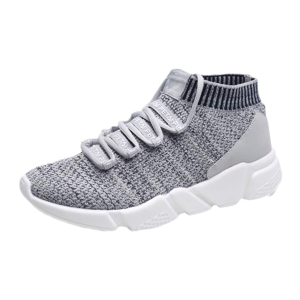 Mens Slip-on Running Shoes, Dacawin Male's Casual Mesh Breathable Lightweight Elastic Fabric Non-Slip Flat Sneakers Dacawin Male' s Casual Mesh Breathable Lightweight Elastic Fabric Non-Slip Flat Sneakers casual men 01