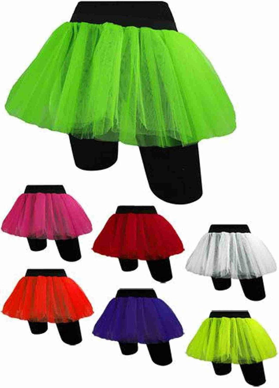 NEW GIRLS NEON TUTU SKIRT HEN PARTY 80/'S FANCY DRESS ACCESSORIES BANGLES YELLOW