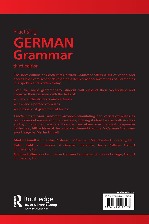 Practising german grammar amazon co uk martin durrell katrin kohl gudrun loftus 9781444120172 books