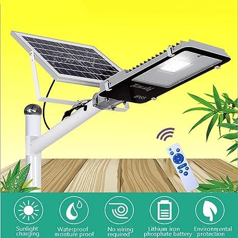 Rmckj-Q Farola Solar LED para Exteriores Atardecer hasta El ...