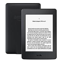 """E-reader Kindle Paperwhite, schermo da 6"""" ad alta risoluzione (300 ppi) con luce integrata, Wi-Fi (Nero) - Con offerte speciali"""