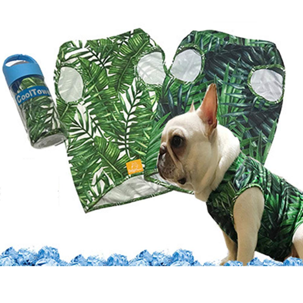Dog Cooling Vest,Dog Cooling Coat, Pet Cooling Coat Sun-Proof Dog Jacket, Suitable for Medium and Small Dogs