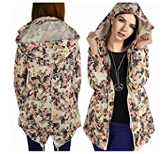 Donna PLUS SIZE MAC Parka Con Cappuccio Fishtail a coda showerproof IMPERMEABILE JACKET 18-24